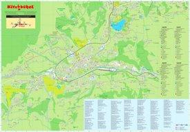 Kitzbühel tourist map