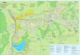 Reith tourist map