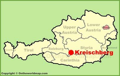 Kreischberg Location Map