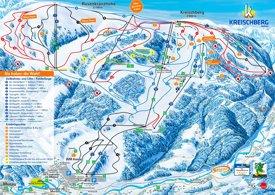 Kreischberg ski map