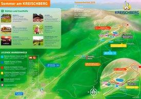 Kreischberg summer map