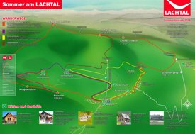 Lachtal summer map