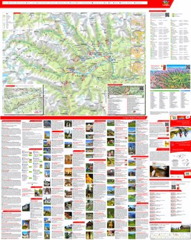 Lungau summer map