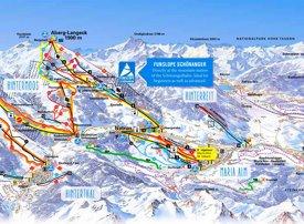 Maria Alm ski map