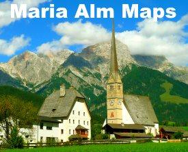 Maria Alm maps
