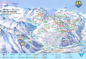 Mayrhofen ski map