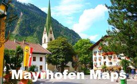 Mayrhofen maps