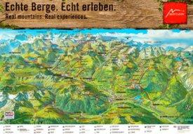 Montafon summer map