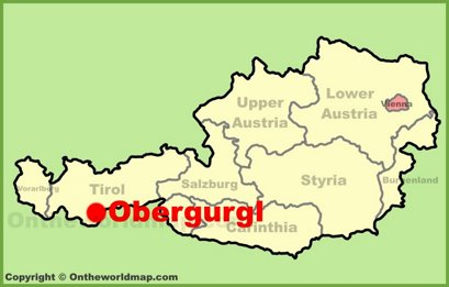 Obergurgl Location Map