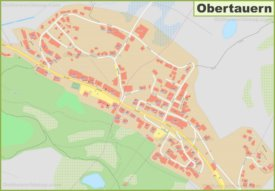 Detailed map of Obertauern