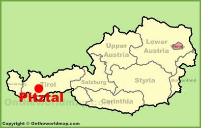 Pitztal Location Map