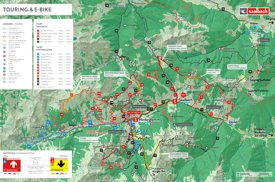 Saalbach - Hinterglemm bike map
