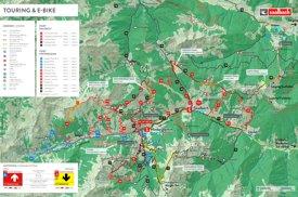 Saalbach - Hinterglemm bike map