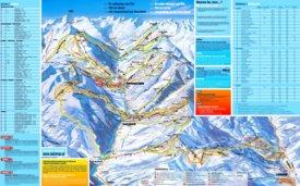 Saalbach ski map
