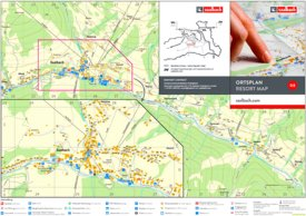 Saalbach tourist map