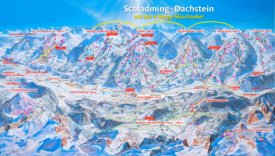 Schladming ski map