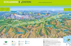 Schladming summer map