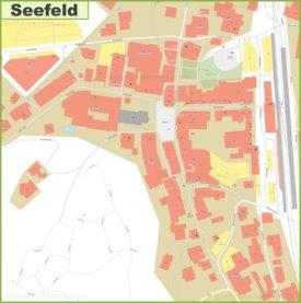 Seefeld city center map