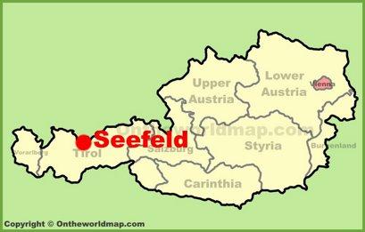 Seefeld Location Map