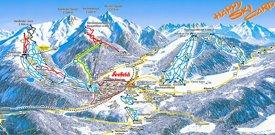 Seefeld ski map