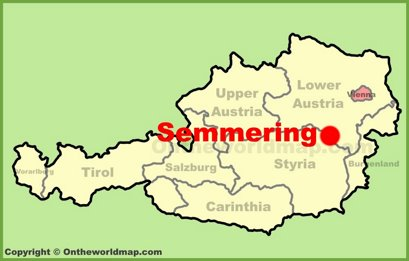 Semmering Location Map