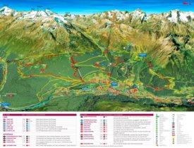 Sölden bike map