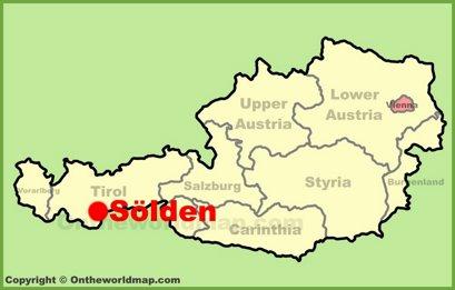 Sölden Location Map
