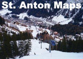 St. Anton maps