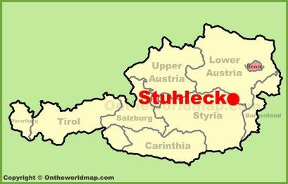 Stuhleck Location Map