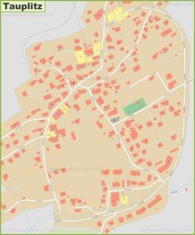 Detailed map of Tauplitz
