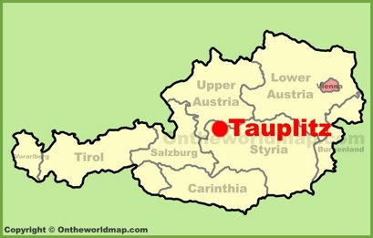 Tauplitz Location Map