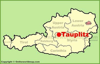 Tauplitz Location Map