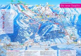 Tauplitz ski map