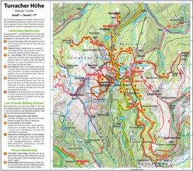 Turracher Höhe tourist map