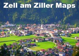 Zell am Ziller maps