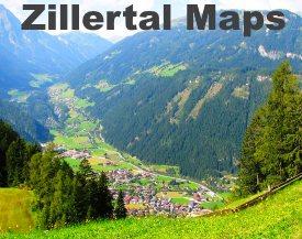 Zillertal maps