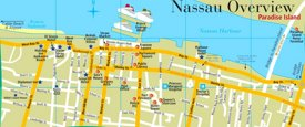 Nassau sightseeing map
