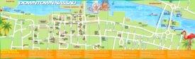 Nassau tourist map