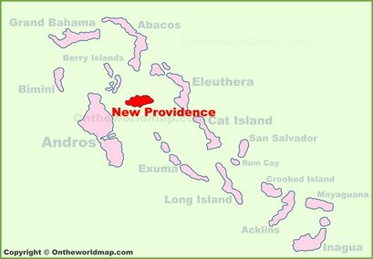 New Providence Location Map