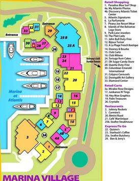 Marina Village Map