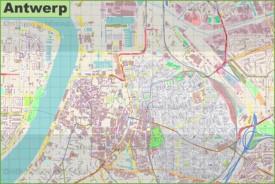 Antwerp Maps Belgium Maps of Antwerp Antwerpen
