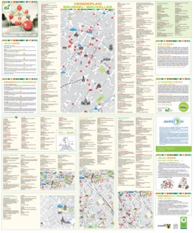 Brussels tourist attractions map