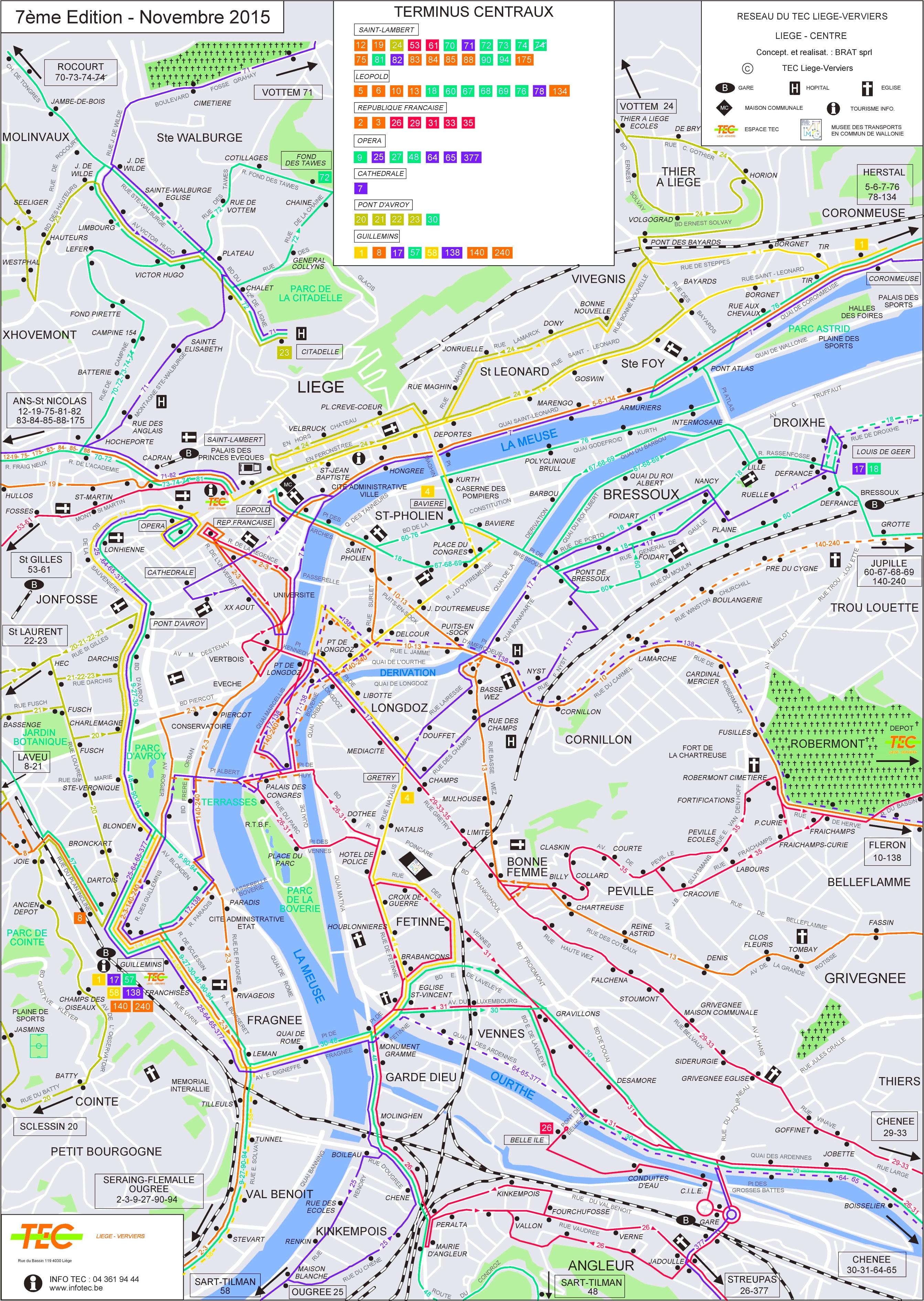 lige transport map