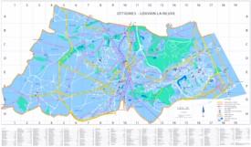 Louvain-la-Neuve bike map