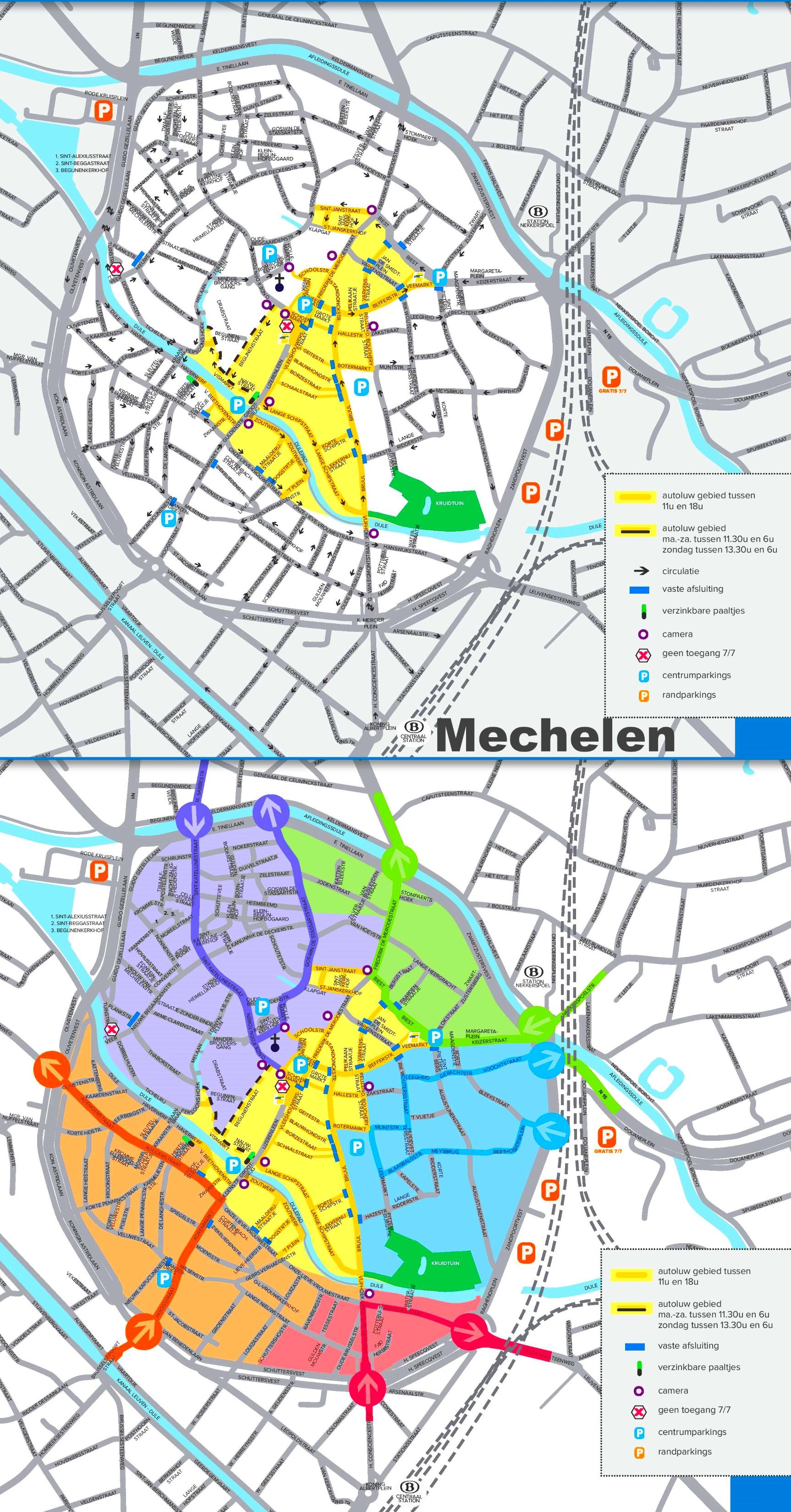 Mechelen road map