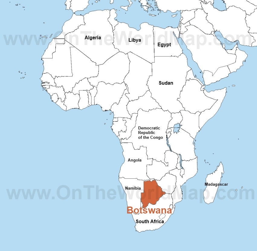 africa botswana report Botswana is located at the center of southern africa, positioned between south the doing business report provides objective measures of business regulations and.