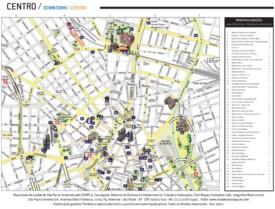 São Paulo city center map