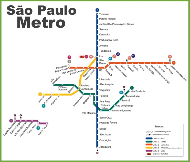 map of new york subway with Sao Paulo Metro Map on Chongqing Map in addition Putting Hoboken Map Nyc Publicly Acknowledge Existence Nj as well Tfl Has Released A New And Improved Walking Tube Map 110915 further Park And Ride Sites additionally Learn How To Make Maps Social Studies Free And Geography Throughout Simple Map For Directions On Simple Map For Directions.