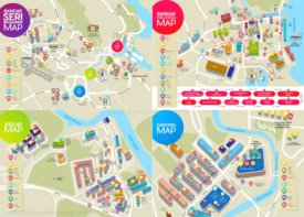 Bandar Seri Begawan tourist map