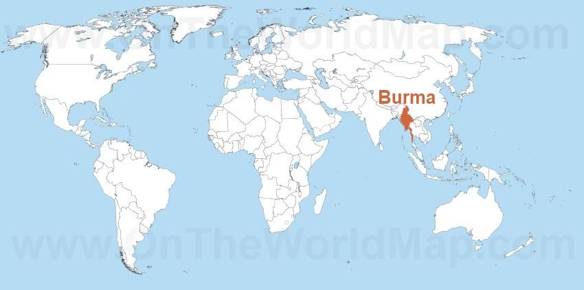 Burma Maps Maps of Burma Myanmar